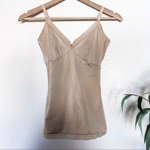 Spanx Nude V Neck Tank Top
